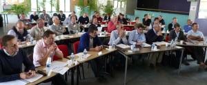 Une cinquantaine de participants au Cercle fertile 2014 a médité sur la place du dirigeant et la façon de manager à l'ère du numérique.